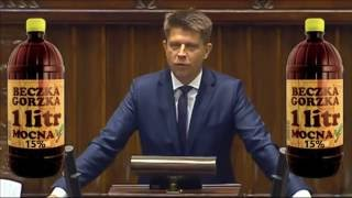 Ryszard Petru PROSZĘ O 15% PRZERWY ... w imieniu klubu WPADKA ŚMIESZNE Petru 15 %