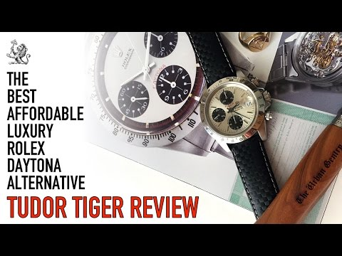 Tudor Tiger Prince Chronograph Watch Review - The Best Rolex Paul Newman Daytona Luxury Alternative