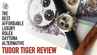 Tudor Tiger Prince Chronograph Watch Review - The Best Rolex Paul Newman Daytona Luxury Alternative