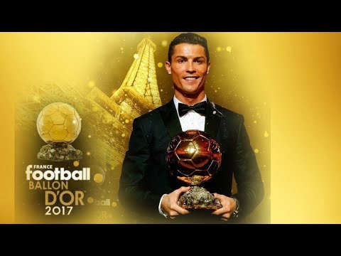 Cristiano Ronaldo wins his 5th Ballon D'or 2017 ||Announcement  Moment