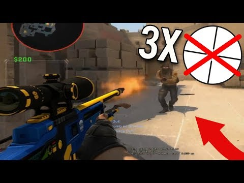 INSANE NOSCOPE 1 VS 3 CLUTCH! 1 BULLET 4 KILLS! DAILY DOSE OF CS:GO #31