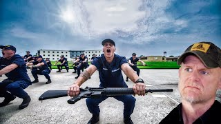 """Coast Guard Boot Camp - """"The Toughest in the US"""" (Marine Reacts)"""