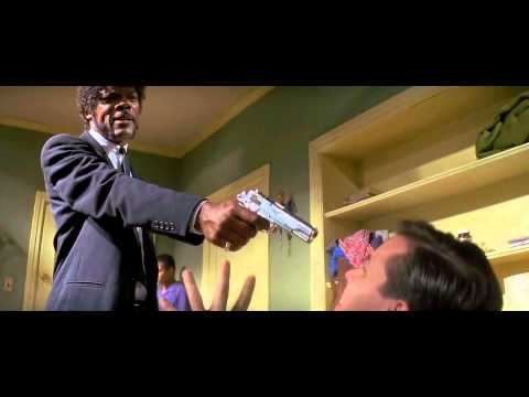 Pulp FIction (1994) Best scene - Samuel Jackson