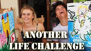 PAINTING ANOTHER LIFE CHALLENGE! W/Jelly