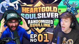 Download lagu THE EPIC BET Pokemon Heart Gold and Soul Silver Soul Link Randomized Nuzlocke EP 01 MP3