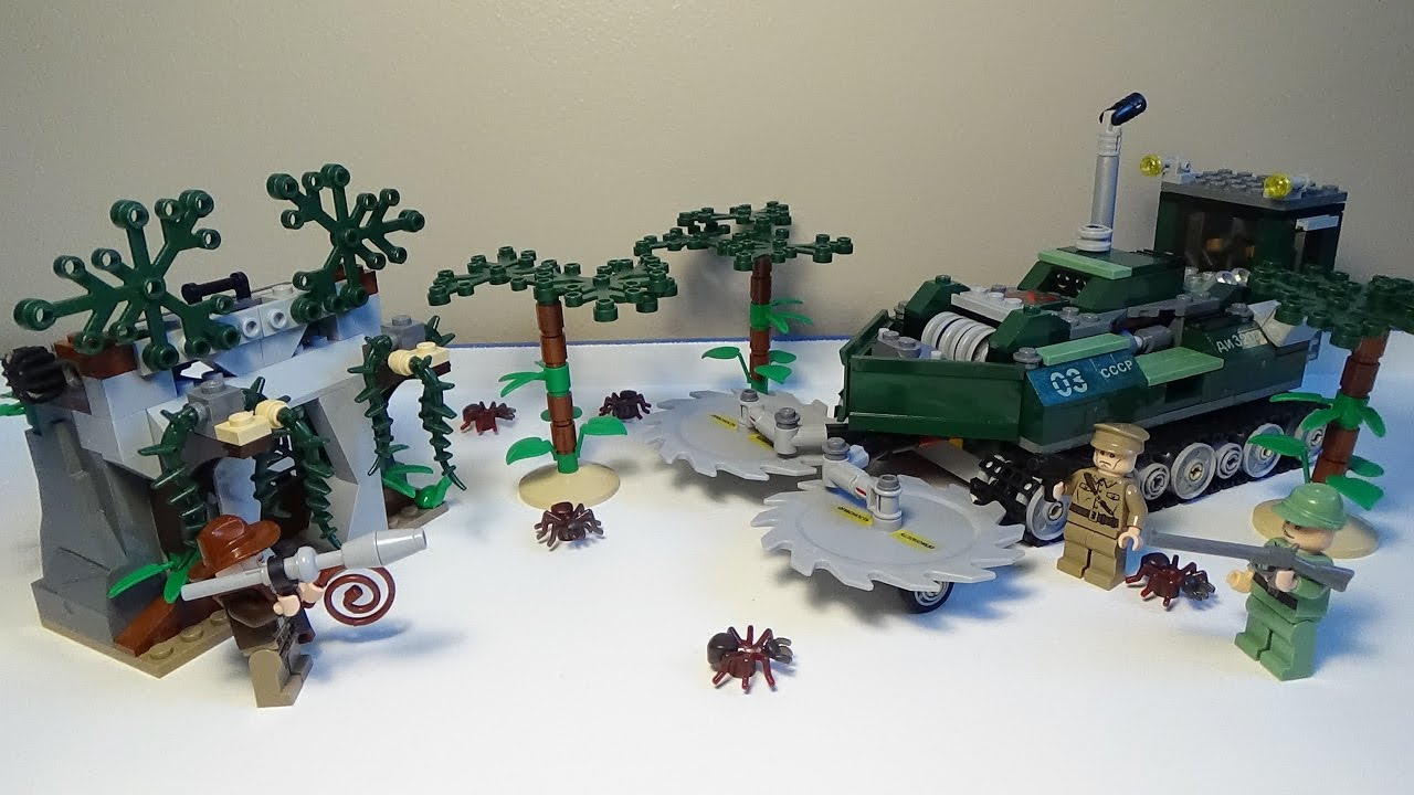 Lego Indiana Jones - Jungle Cutter Review - YouTube
