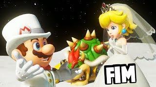 O VERDADEIRO FINAL!!! O CASAMENTO DO BOWSER E PEACH!   Super Mario Odyssey   FIM (Em Português)