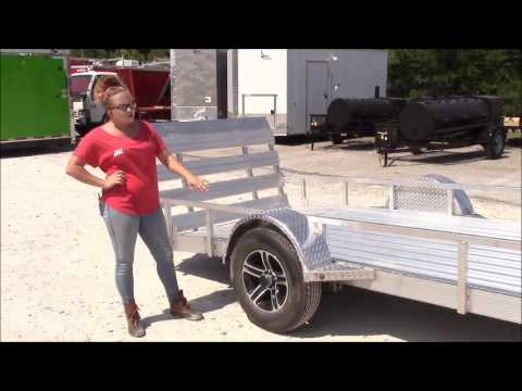 5'x12' All Aluminum Dovetail Utility Trailer Review