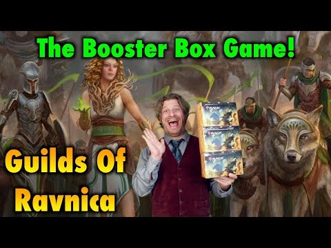Let's Play The Guilds Of Ravnica Booster Box Game For Magic: The Gathering!