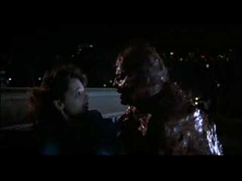 The Fly 1986 ( rooftop scene )
