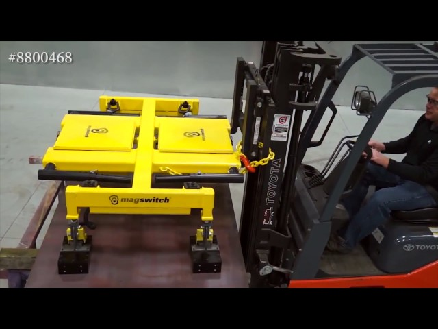 HLF Vs. Pry & Forklift | Magswitch Technology