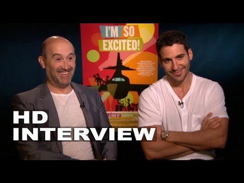 I'm So Excited: Interview with Javier Cámara & Miguel Ángel Silvestre (El Duque) in Los Angeles