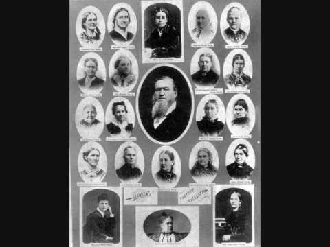 Brigham Young and his 55 wives