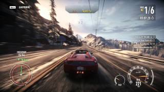 Need For Speed: Rivals PC - Grand Tour 9:09.45 - Fully Upgraded Ferrari 458 Spider