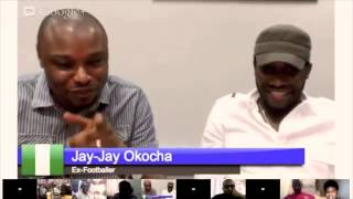Google+ Hangout with Jay-Jay Okocha - #askjayjay