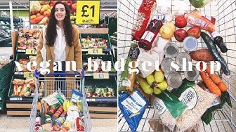 £15 VEGAN WEEKLY BUDGET GROCERY SHOP AT TESCO 💰