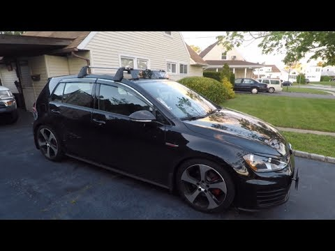Mk7 Gti Oe Roof Rack Review Youtube