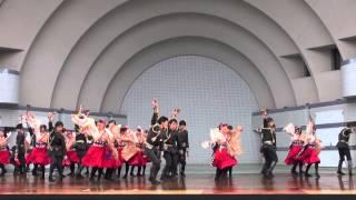 2015 原宿スーパーよさこい・代々木公園ステージ演舞.