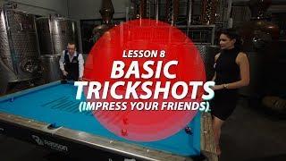 Billiards Tutorial: Easy Trick Shots to Impress your Friends!!