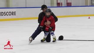 Катание на коньках. Базовые навыки.