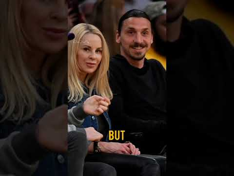 Zlatan Ibrahimovic scared of his wife 😂