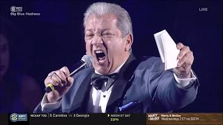 Bruce Buffer Introduces the Wildcats at Big Blue Madness!