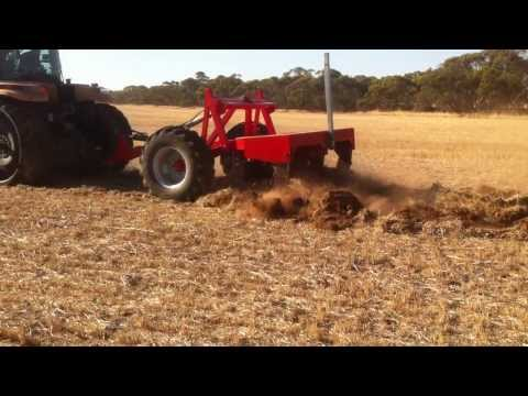 Bascombe AutoAg fixed tyne deep ripper