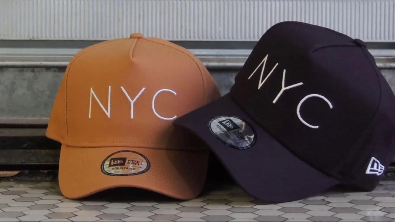 Boné New Era NYC 9FORTY - YouTube 2e865397c02