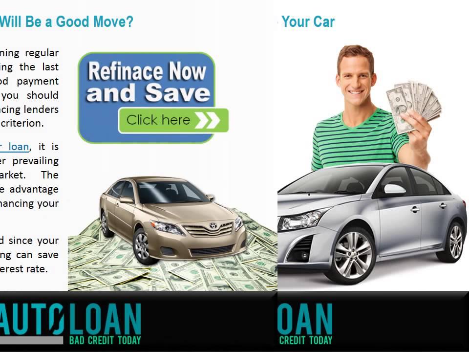 when should i refinance my car loan youtube. Black Bedroom Furniture Sets. Home Design Ideas