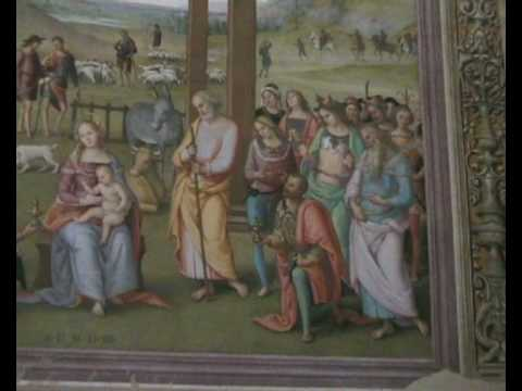 Adoration of the Magi - Pietro Vannucci (Perugino)