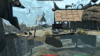 Скайрим: скрытый сундук в Вайтране/Skyrim Whiterun secret chest of Eorlund Gray-Mane