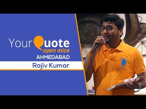 'Akelapan' By Rajiv Kumar | Hindi Poetry | YQ - Ahmedabad (Open Mic 3)