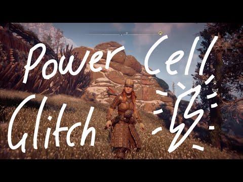 Horizon Zero Dawn: Power Cell Glitch (World first)