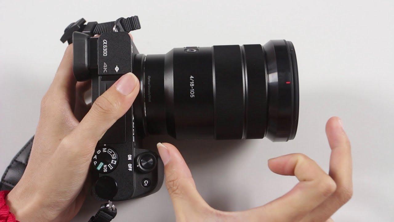 Mở hộp lens Sony 18-105mm f4 G OSS : lens đa dụng giá tốt