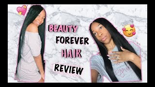 BEAUTY FOREVER HAIR 1 MONTH REVIEW // CKISSES