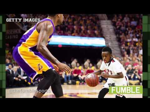 LeBron James' Son Shows Off His Insane Basketball Skills