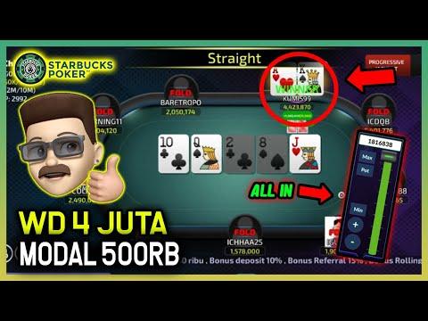 Main Poker Online !! Modal 500rb Menang 4 Juta Lawan Sampai Kesel !