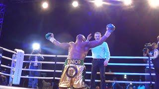 CHAMPIONNAT DU MONDE WBC : JUNIOR ILUNGA MAKABU, LA MACHINE DES COUPS : REVIVEZ L'AMBIANCE