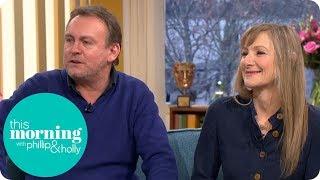 Philip Glenister & Lesley Sharp on the Return of Living the Dream   This Morning