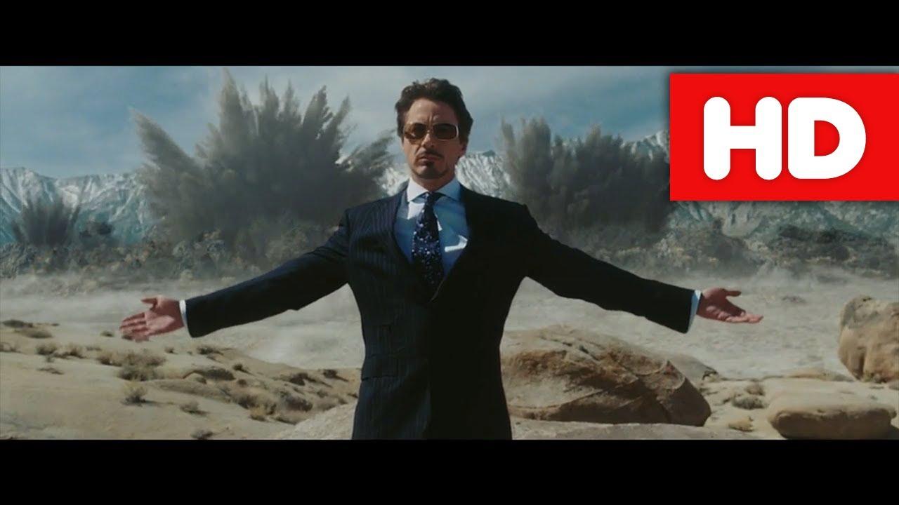 Iron Man (2008) Jericho test | CZ Dabing | HD