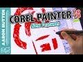 Corel Painter 2018 Review & New Features ✨ #CorelPainter2018