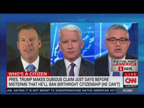 Kris Kobach Blows Up After Jeffrey Toobin Calls Him A Racist To His Face: 'Absolutely Outrageous'