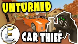I Stole a $150,000 SUPERCAR | Unturned Car Thief RP - Stealing from dealers