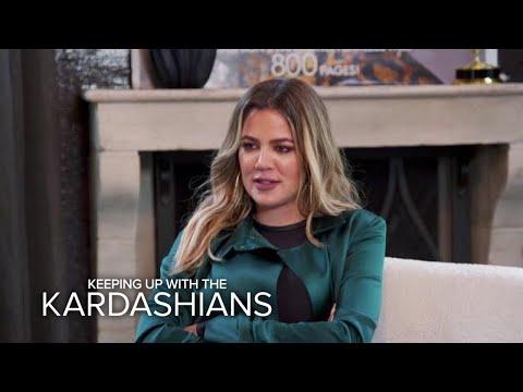 KUWTK | Kris Jenner Art-Shames Khloé Kardashian -- Wow! | E!