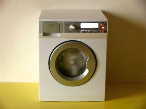 Museo Virtuale delle Lavatrici Giocattolo 4 Video Lavatrice Klein AEG Electrolux  YouTube