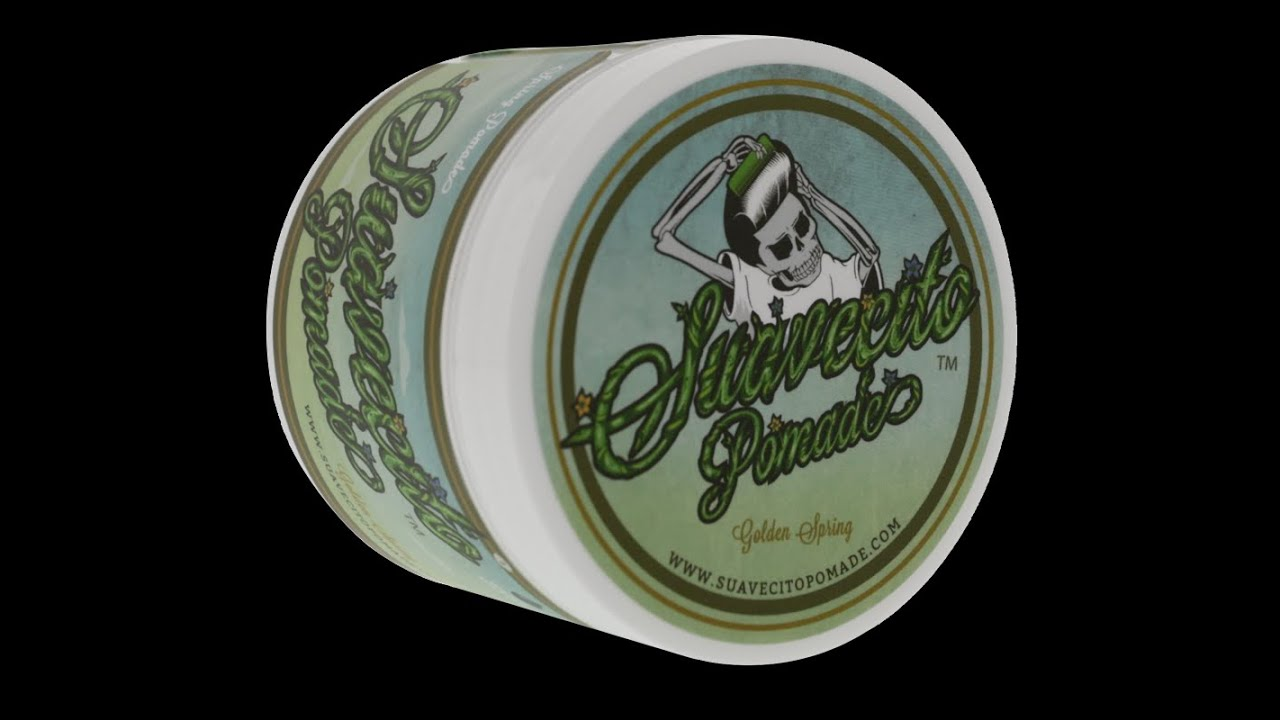 Suavecito Pomade Spring Golden Valley Edition Hair Product Tm Review
