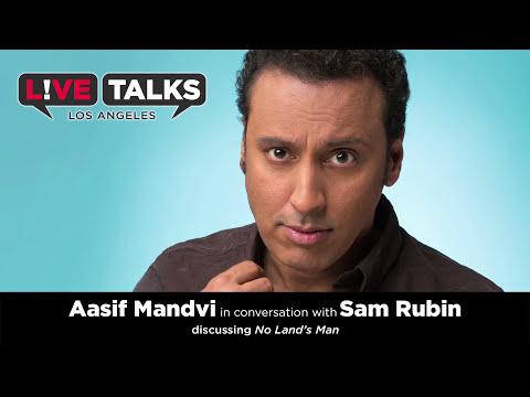 Aasif Mandvi in conversation with Sam Rubin