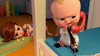 The Boss Baby TRAILERS - 2017 DreamWorks Animation