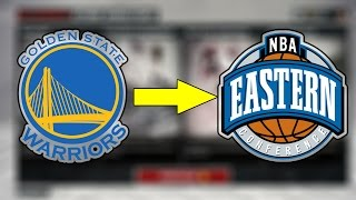 WHAT IF THE WARRIORS PLAYED IN THE EASTERN CONFERENCE?