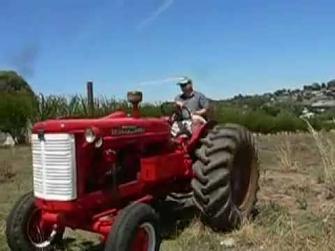 International Aw7 Tractor Restored Youtube